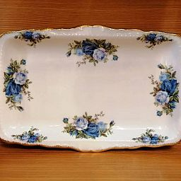 Sandwich Tray - Vassoio MOONLIGHT ROSE